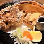 魚と日本酒 uchi  - かさごの唐揚げ