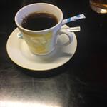 楽車 - 食後のホットコーヒー