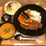 Butanikusemmontentonkatsunori - 「スープカツカレー」1500円