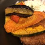 Butanikusemmontentonkatsunori - 揚げ野菜