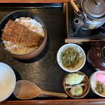 炭櫓 - ひつまぶし(梅)  2450円