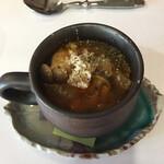 125787297 - コンソメ味の野菜ゴロゴロスープ