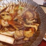 サガミ - 名古屋コーチン味噌小鍋