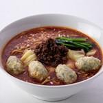 雲呑好 - 肉厚ワンタン麺(たんたん味)