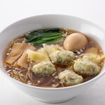 雲呑好 - 肉厚ワンタン麺(醤油味)
