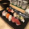ぎょしん - 料理写真:旬の握り盛り合わせ