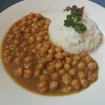 ウズカフェ - ひよこ豆カレー