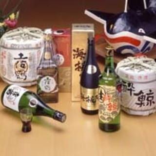 淡麗辛口な土佐酒、芳醇な土佐焼酎をご用意いたしております!!