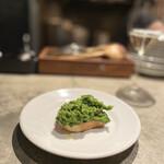 RODEO - クタクタ菜の花のブルスケッタ