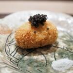 虎白 - 揚物 松葉蟹クリームコロッケ キャビア 顔がっ!