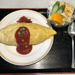 喫茶パール - 料理写真:オムライスSet