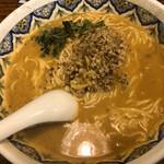 中国ラーメン 揚州商人 - カレー坦々麺