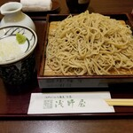 Asanoya - せいろ¥750+大盛¥200=¥950(税込¥1045)