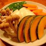 焼肉 わ - 焼野菜盛り合わせ