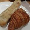 NOBU Cafe - 料理写真:ベーコンサンド、クロワッサン