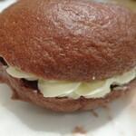 NOBU Cafe - ベーグルクリームサンド