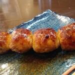 炭火焼鳥 喜八 - 肉だんご100円