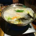 125818306 - 豚しゃぶ鍋