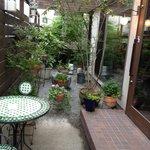 クレープリー カフェ 樹水 - お庭