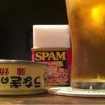 mr.KANSO - ビール350円  うなぎの肝350円