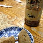 大村庵 - ビール。<2012_04>
