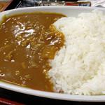 大村庵 - 蕎麦屋とは思えないカレー。<2012_04>