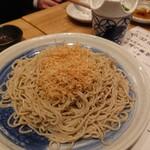 天ぷら酒場 KITSUNE - もりそば(大)(680円)