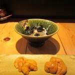 旬鮮彩鮨 豊のはなれ - 料理写真:海胆食べ比べ