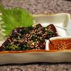 焼肉のひがし田 - 料理写真:馬のレバ刺し