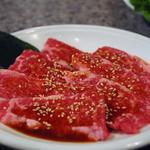焼肉のひがし田 - 和牛(特選)上カルビ