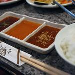 焼肉のひがし田 - タレは三種類