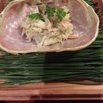 125832016 - 間人蟹の飯蒸し