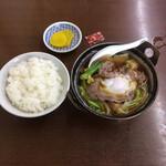 125838971 - 肉鍋ライス ¥700