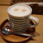 カフェ フレディ - ランチセットのドリンク