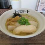 125843573 - 和風出汁らーめん塩味(750円)