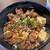 ヌーベル クアトロ - とろとろ煮込みの筋肉丼 750円
