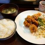 日本酒×炭火バル からんと - からあげ定食