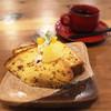 喫茶 囲座夢 - 料理写真:アールグレイのシフォンケーキ
