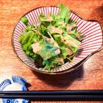 神田ゴタル - ランチに付いているサラダ
