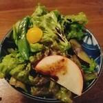やきとり 嶋家 - サラダ