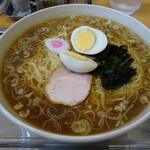 大勝軒 - 中華麺(大盛り・玉子)¥1155