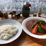 Supukarekamui - チキン野菜カレー