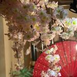 ジョニーのからあげ 車家ジョニー - 桜を装飾してます♪