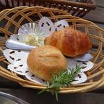 ラ・パニエ - セットのパン
