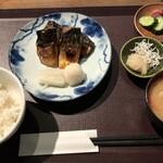 酒蔵レストラン宝 - 鯖の桜干し膳