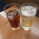 肉のヤマキ商店 - エア乾杯