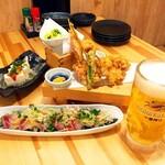 てんぷら広場 食道 - メイン写真: