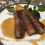 125867974 - ⒌洋皿:仙台牛ステーキ