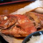 食事処 池田 - 料理写真:2020.2 金目鯛煮魚定食(1,800円)