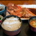 食事処 池田 - 2020.2 金目鯛煮魚定食(1,800円)